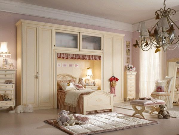 LUXURY GIRLS BEDROOM DESIGN DECOR