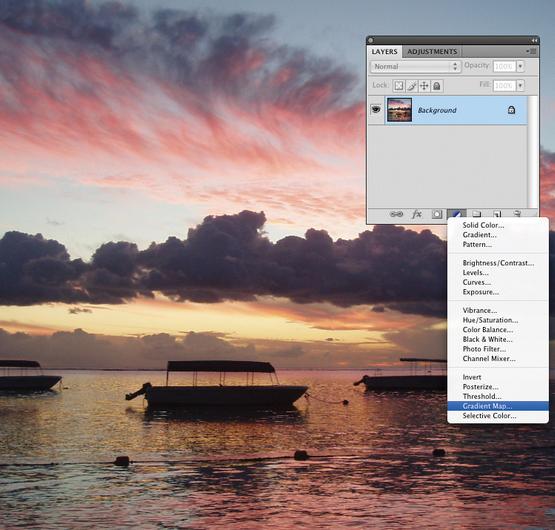 Cara Membuat Efek Sunset pada Foto dengan Photoshop Cs3