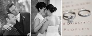 Exquisite gay wedding