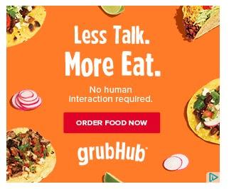 grub hub ad