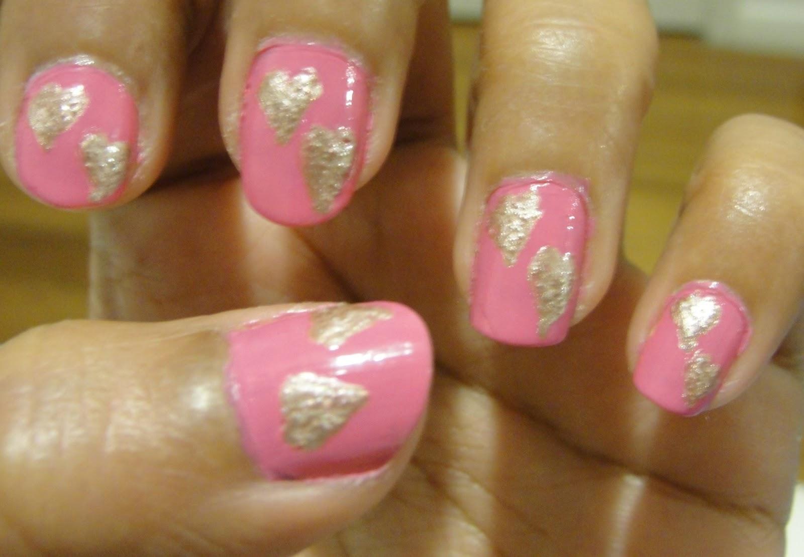 nail art design 2014 pretty pink nail designs