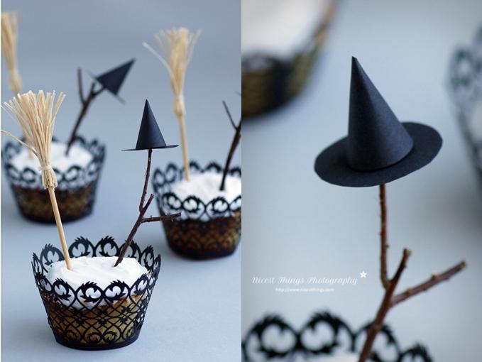 Hexen Cupcakes Halloween