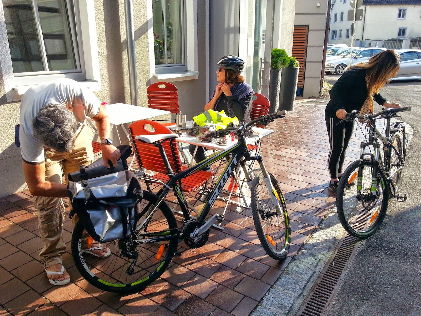 Cycling Claudia Augusta bike rental in Donauwörth