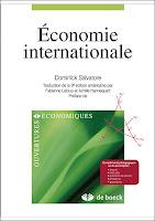 L'objectif de l'ouvrage de Dominick Salvatore « Economie internationale » est d'offrir une présentation exhaustive