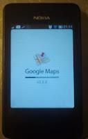 Google maps nokia asha 501