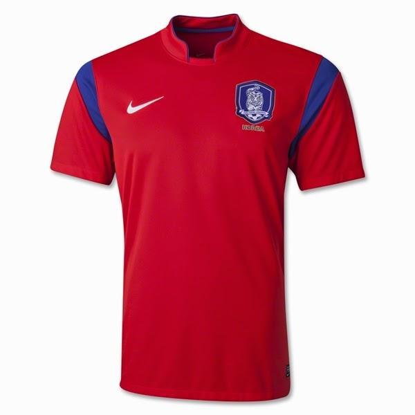 Jersey Negara Korea Selaten - Piala Dunia 2014