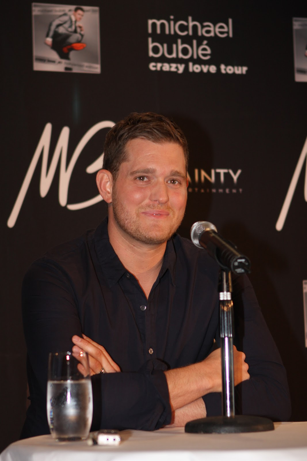 Michael Bublé Wows The Press In Sydney, By Eva Rinaldi   10th