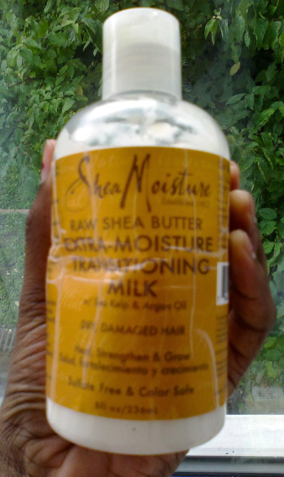 SheaMoisture Raw Shea Butter Extra Moisture Transitioning ...