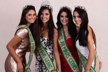 VENCEDORAS DO MISS TERRA MINAS GERAIS 2012