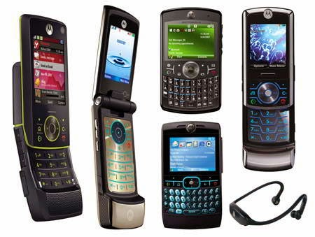 Latest mobile phones