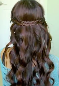 Easy to do irregular braid headband tutorial! Check it out!