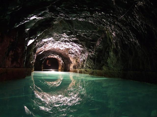 presa de agua mina riutort mina petroleo guardiola bergueda