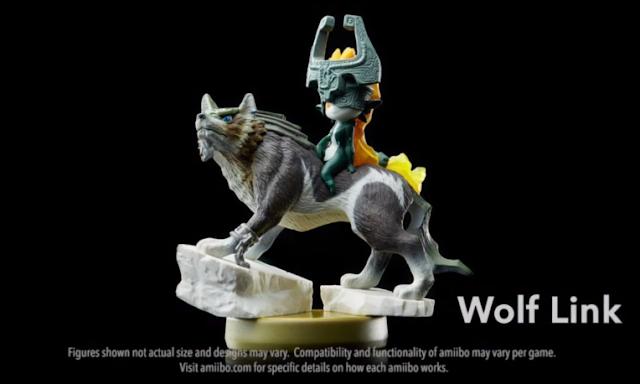 Wolf Link Midna amiibo