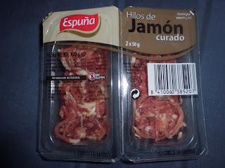 HILOS DE JAMÓN CURADO