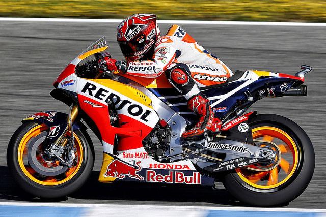 Setelah uji coba di Jerez . . ini tanggapan Marquez terhadap ECU dan ban baru untuk MotoGP musim 2016 mendatang . .