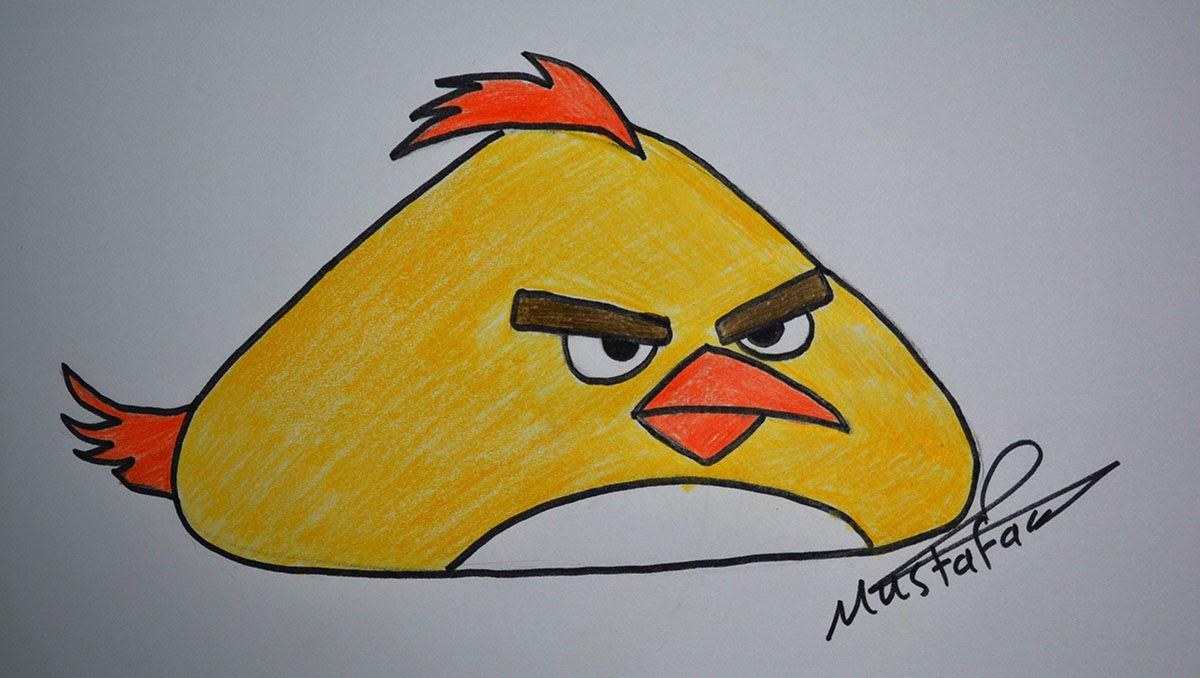 كيفية تعليم رسم الطيور الغاضبة Angry Bird