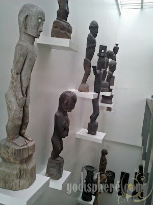BenCab Museum Bulol Wood Carvings collection
