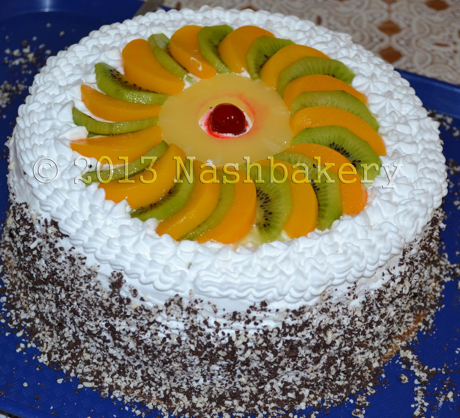Fruits Decoration Decorate With Fruits And