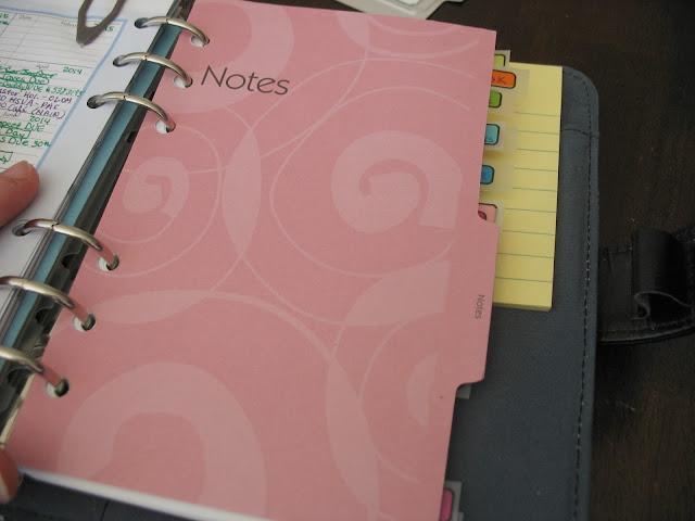 pink planner tab, planner