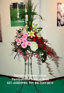 Kirim Bunga Pembukaan Toko di Gandaria City
