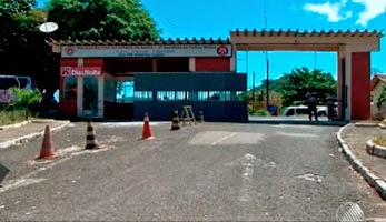 PM está custodiado no 2º Batalhão de Polícia Militar (Foto: Reprodução/ TV Bahia)