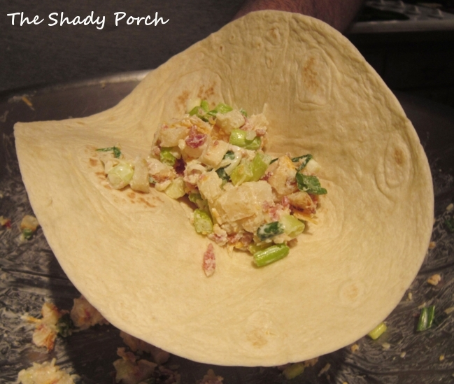 ... Shady Porch: Cheesy Potato Popper Wraps...great as a meal or a snack