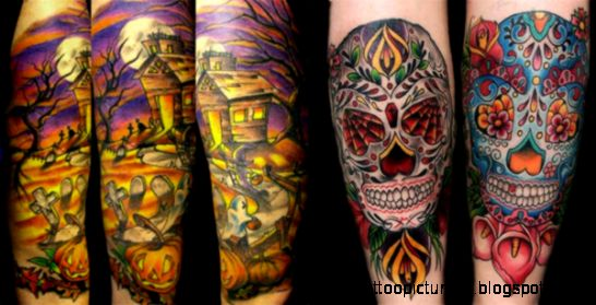 Girlshue   15  Best Unique amp Scary Halloween Tattoo Designs