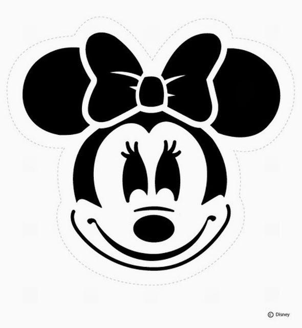 Moldes De La Cara Minnie Mouse Ideas Y Material Gratis Para