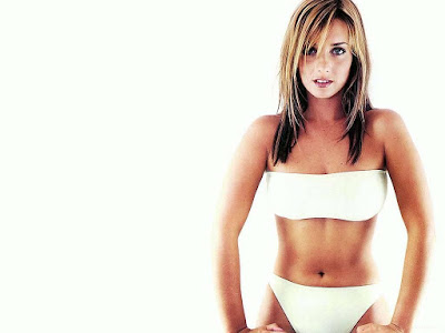 British Media Presonality Louise Redknapp Swimsuit Images