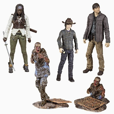 The Walking Dead TV Series 7 Action Figure Set