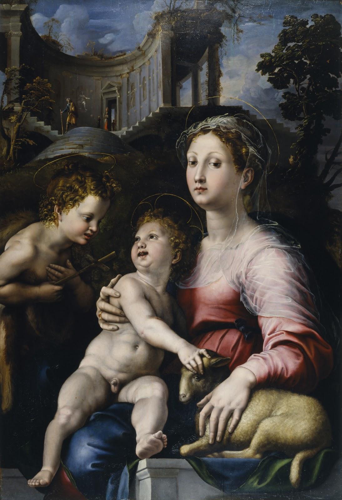 giulio romano madona child