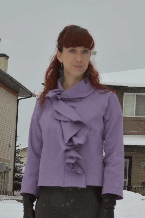 lilac jacket, v1052