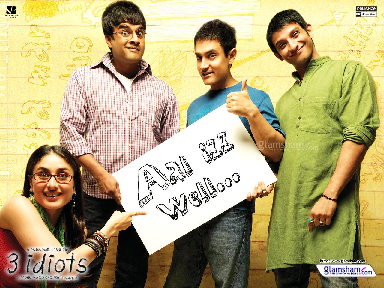 ! Hilalin El Emeği !: 3 Harika Bollywood Filmi ( 3 Idiots