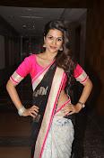 Shaddha das glamorous photos in saree-thumbnail-9