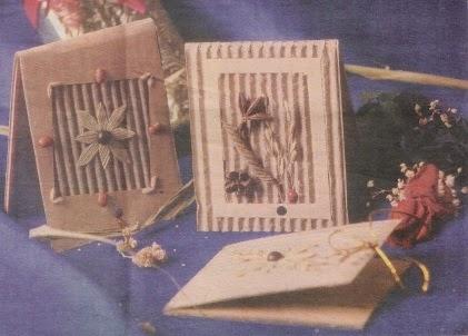 Membuat Kartu Ucapan dari Kardus Bekas - Seni Rupa