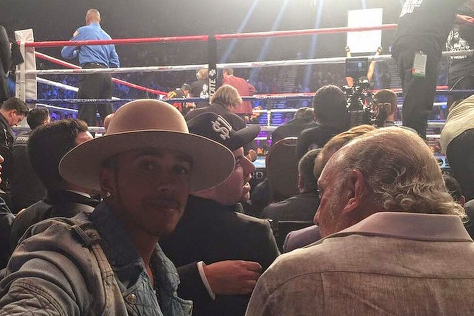 Lewis-Hamilton - Mayweather v Pacquiao: Before the fight