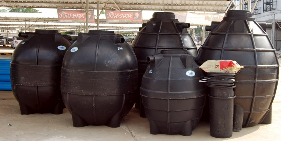 Buriram house builder buriram lanko building materials for Build a septic tank