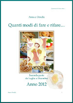 PDF DELLE RICETTE RIFATTE 2012-SECONDA PARTE