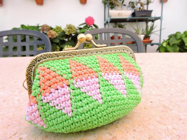 monedero tapestry crochet