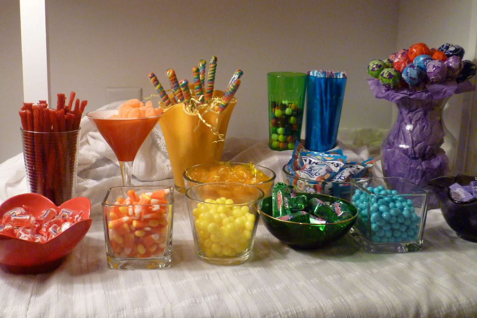 Candy Buffet On A 50 Budget