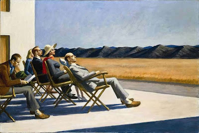 Edward Hopper -People in the sun ,1960