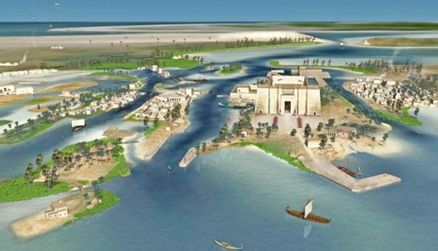 Peta Benua Atlantis yang Hilang Telah Ditemukan