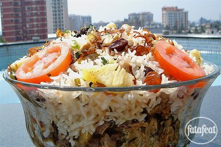 tablespoon mixture of garlic with ginger and green chili Lamb biryani recipe