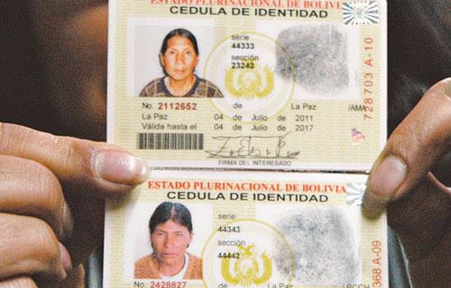 Trámites en Bolivia