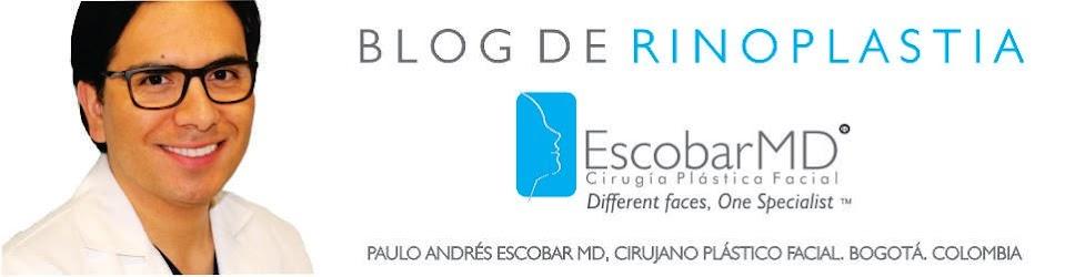 DR. ESCOBAR ESPECIALISTA EN  RINOPLASTIA  o CIRUGIA  DE NARIZ EN BOGOTÁ, COLOMBIA