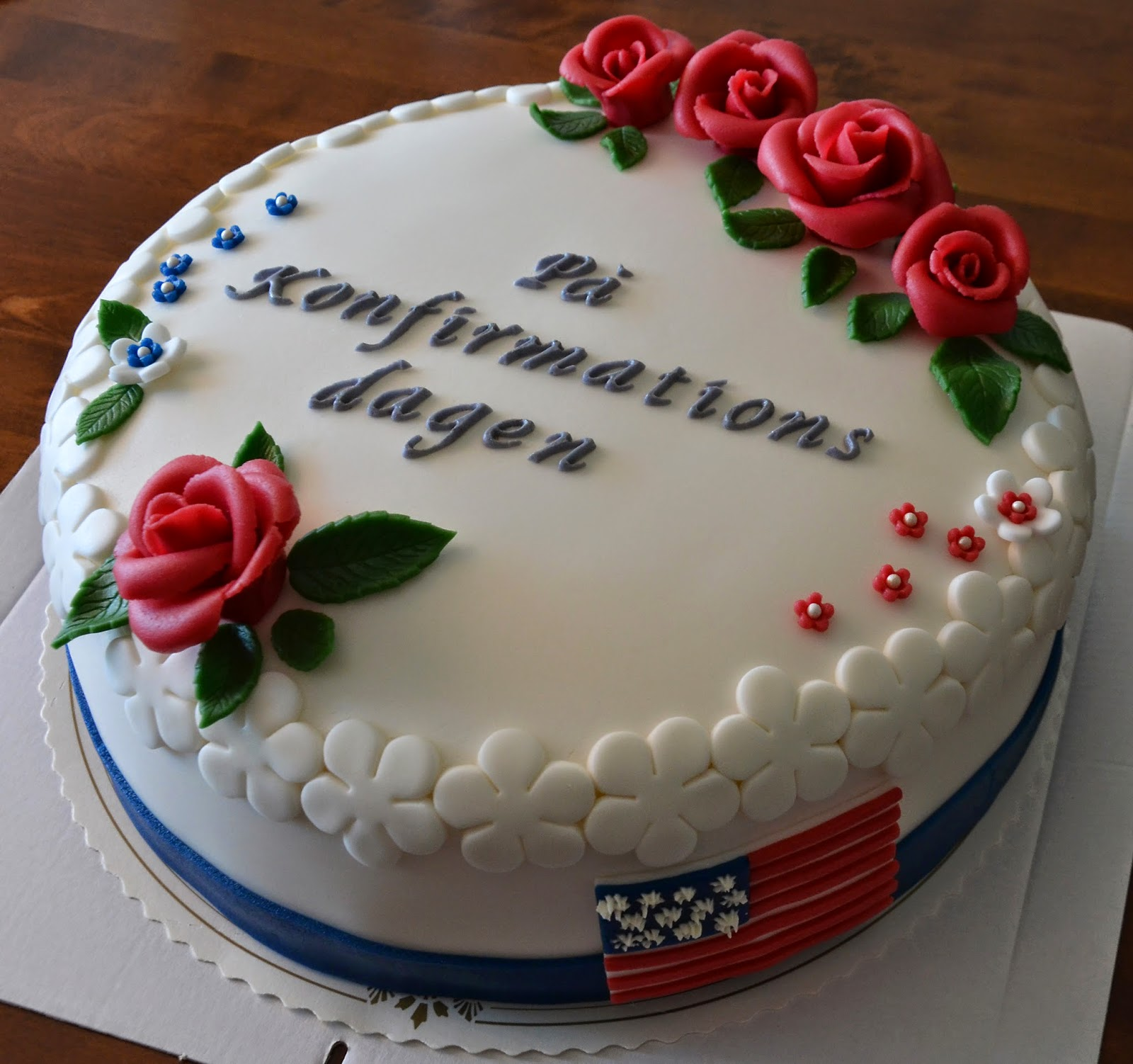 dekoration till tårta
