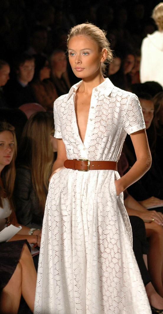 платье сафари удлиненное