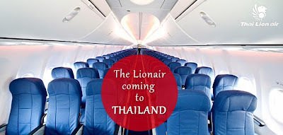 Thai Lion Air Terbang ke Thailand