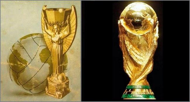 Los trofeos de las Copas del mundo