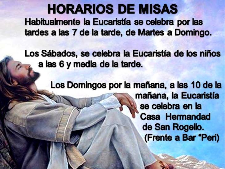 HORARIOS DE MISAS EN LA PARROQUIA DE ÍLLORA DURANTE LA NAVIDAD